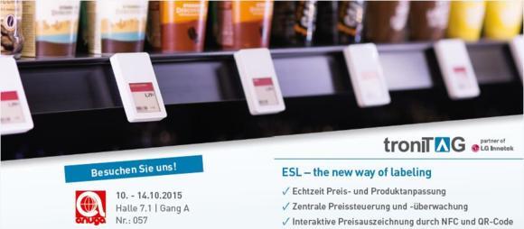 Mit troniTAG zur elektronischen Preisauszeichnung
