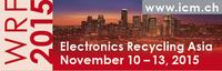 Electronics Recycling Asia, November 10 - 13, 2015, Singapore