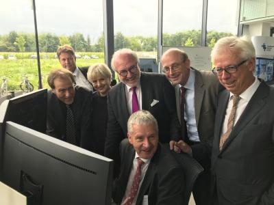 Uniklinik RWTH Aachen feiert Start der Interventionsphase von TELnet@NRW mit Rudolf Henke *