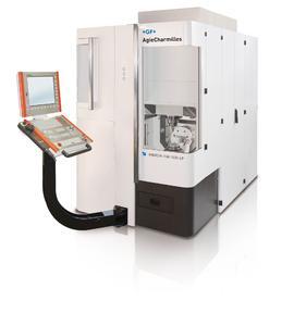 Für hochpräzise Ergebnisse auf kleinstem Raum sorgt die HSM 200 U LP von GF Agie Charmilles. Als 3- oder 5-Achs-Maschine mit Wechsler für bis zu 140 Werkzeuge erhältlich, liefert sie bis auf 2 µm genaue Ergebnisse.