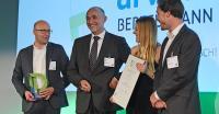Das Arvato Systems-Team freut sich über den Digital Leader Award