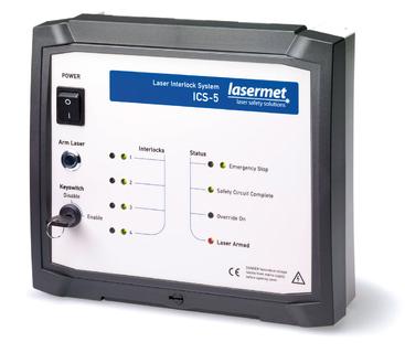 Laser-Interlock-System ICS-5 von LASERMET