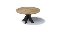 Bisley FORTIS Desking - Runde Platte mit Schweizer Kante, S2 Gestell