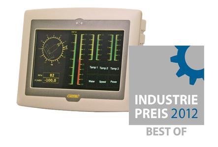 BEST OF 2012 für GeBE / INDUSTRIEPREIS 2012