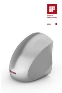 Der neue Highspeed-Händetrockner Ultronic von STIEBEL ELTRON wurde schon zur Markteinführung mit dem iF-design-award 2012 ausgezeichnet. Das Gerät weiß aber nicht nur mit seinem Design, sondern auch mit seinen inneren Werten zu überzeugen: Der über 300 km/h starke Luftstrom trocknet nasse Hände in Sekundenschnelle