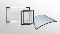 Sicherheitsscheiben von HEMA bieten optimalen Schutz vor Spänen und umherfliegenden Werkstückteilen und können gerade oder gebogen gefertigt werden