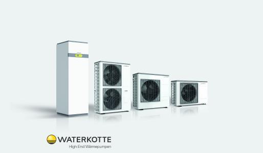 Mit der neuen Außeneinheit ist die Baureihe Basic Line Air noch effizienter und im Bestands- und Neubau förderfähig / Bild: Waterkotte