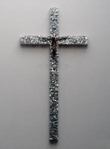 Erster Preis der Kategorie Metallgestaltung: Schlüsselkreuz der St. Elisabeth Kapelle, Friesoythe von Alfred Bullermann, Atelier Eisenzeit