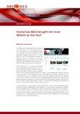 [PDF] Pressemitteilung: Hochschule München geht mit neuer Website an den Start