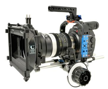 Cage Prototyp an der Canon EOS C300