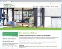 Internetagentur formativ.net launcht neue Website des Ärztehauses Weilrod in Responsive Webdesign