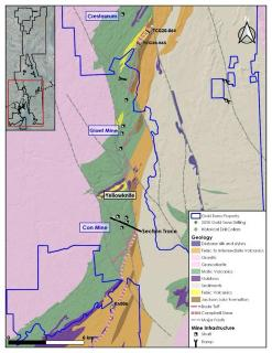 Gold Terra Plans to Drill Prolific High-Grade Campbell Shear on its Yellowknife Property