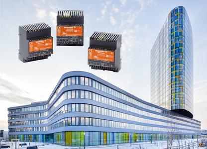 """Weidmüller """"connectPower INSTAPOWER"""": Kompakte und zuverlässige Schaltnetzgeräte für die moderne Gebäudeautomation"""