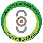 Arbeitssicherheit- CO² Neutral Umweltsiegel