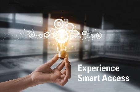 """""""Experience Smart Access"""" auf der BAU 2019 in Halle B3, Stand110"""