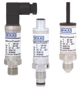 Pressure sensors M-10 and M-11