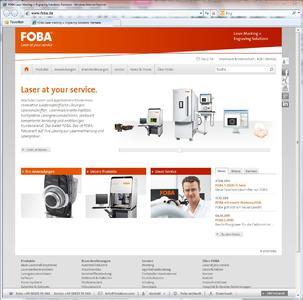 FOBA Webseite HOME 2012