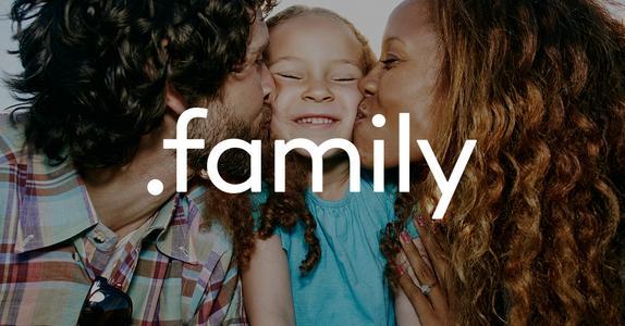 Family-Domains sind optimal für Webseiten über die Familie