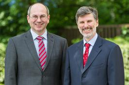 Dr. Markus Ehbrecht and Richard Distl