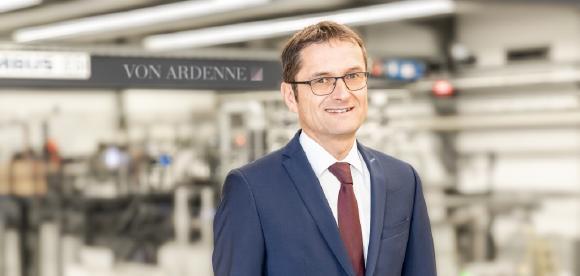 Klaus Löffler, neuer CSO der VON ARDENNE-Gruppe © VON ARDENNE Corporate Archive