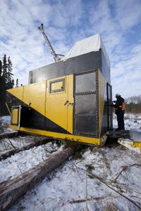 Winterbohrungen Goliath Goldprojekt