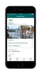 XING Stellenmarkt App: Jetzt auch unterwegs den Job finden, der zum Leben passt