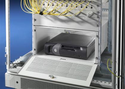 Die Sicherheitsbox von Rittal schützt Videoüberwachungsgeräte und Backups vor unbefugtem Zugriff