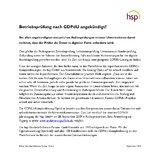 [PDF] Pressemitteilung: Betriebsprüfung nach GDPdU angekündigt?