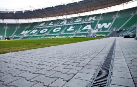 Blick in das Stadion in Breslau, Copyright: Hauraton