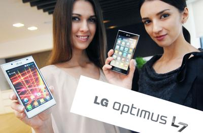 Design-Phone LG Optimus L7: Smarte Features zum attraktiven Preis