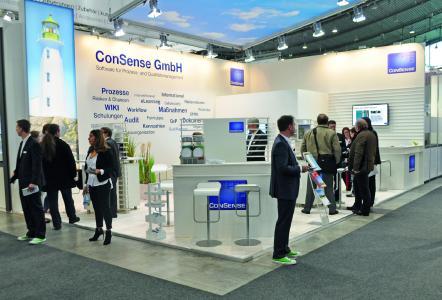 Vereinfachte Norm-Migration, Konzepte für standortübergreifendes Qualitäts- und Prozess-management und mehr – bei der ConSense GmbH auf der Control 2017