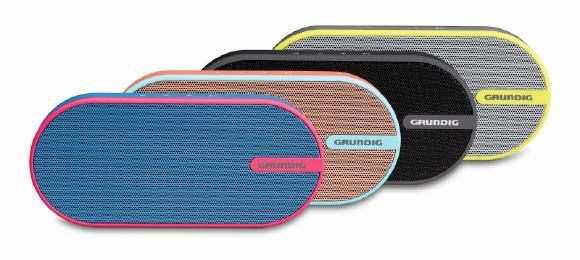 Der Grundig GSB 150 ist jetzt in vier Design-Varianten erhältlich (© Grundig Intermedia GmbH)