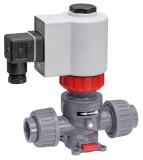 Directly controlled process solenoid valve with innovative bellows system