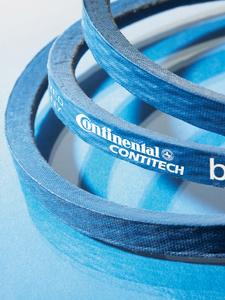 With the CONTI-V® PIONEER, ContiTech is presenting the world's first eco-friendly wrapped V-belt. It is composed largely of renewable raw materials, Photo: ContiTech