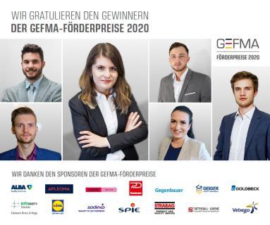 GEFMA Förderpreisträger 2020