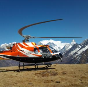 AS350 B3e from Shree Airlines (© Copyright Shree Airlines)