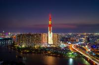 Osram lights up tallest building in Southeast Asia