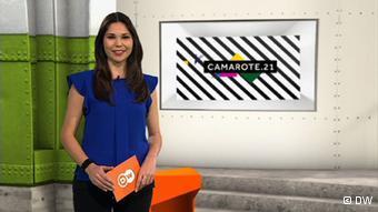 Camarote.21 host Francis Franca