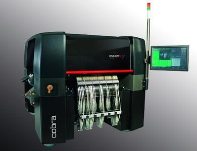 Die wichtigsten Features der COBRA sind neue Materialien, neuste Technologie, Flexibilität, Feederanzahl, die Eplace Software und die Schweizer Qualität. Die Maschine beinhaltet das Beste und Modernste, was es heute gibt.