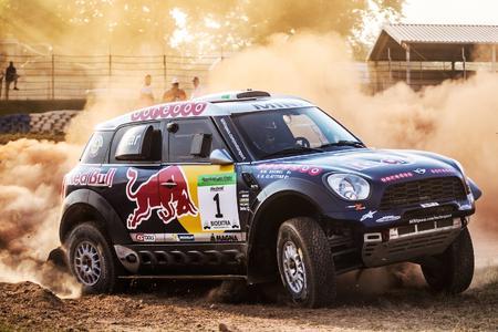 2015 Hungarian Baja, Special Stage, Nasser Al-Attiyah (QAT), Mathieu Baumel (FRA) - MINI ALL4 Racing #1 - Qatar Rally Team - 14.08.2015