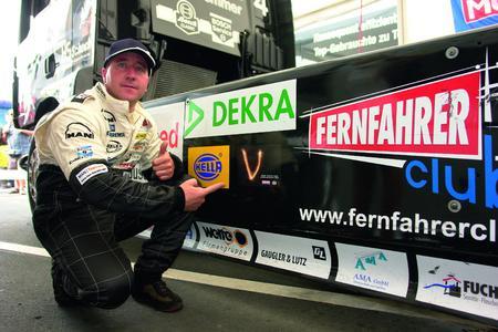 Truck-Rennfahrer Jochen Hahn ist Vtop-Pilot der ersten Stunde