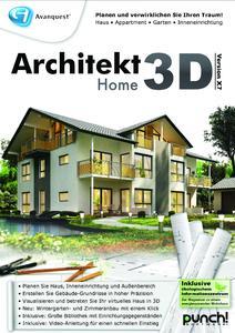 Ideal Für Die Planung Der Eigenen Vier Wände: Architekt 3D X7 (Home)