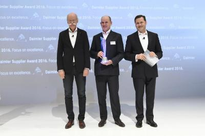 WABCO erhält Daimler Supplier Award 2016