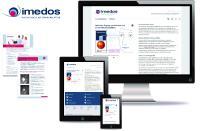 Klar, dynamisch und modern: Der neue Markenauftritt der Imedos Systems GmbH