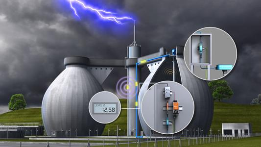 Weidmüller offers a complete lightning and surge protection solution for intrinsically safe circuits in hazardous area applications from Zone 2 through to Zone 0 of technical processing plant such as chemical processing, sewage treatment and biogas processing plants