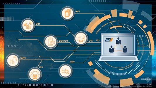 Effiziente Systemintegration mit durchgängiger Prozessautomatisierung: ITC PowerCommerce® als Daten-Drehscheibe.