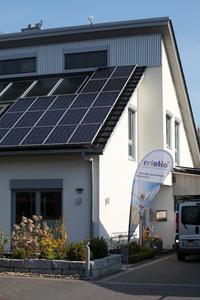 Die erste Photovoltaik-Anlage von relatio mit Speichertechnologie