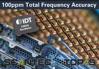 IDT Introduces World's Most Accurate All-Silicon CMOS Oscillator