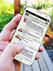 JaOffice - Social Intranet mobile App für Smartphones