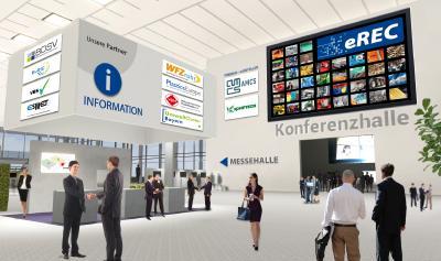Lobby auf der eREC  (Abb.: MSV GmbH)